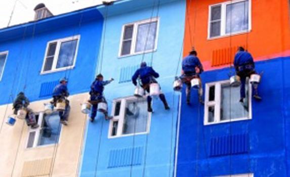 Покраска фасадов и стен, стоимость, цены