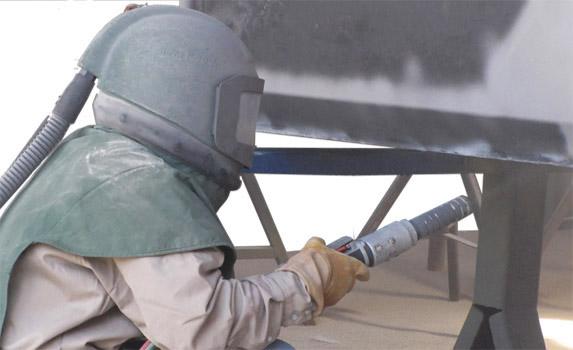 Сущность пескоструйной обработки металла и других поверхностей